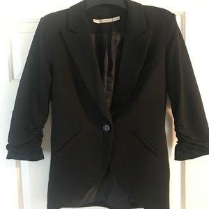 Gibson black one button blazer
